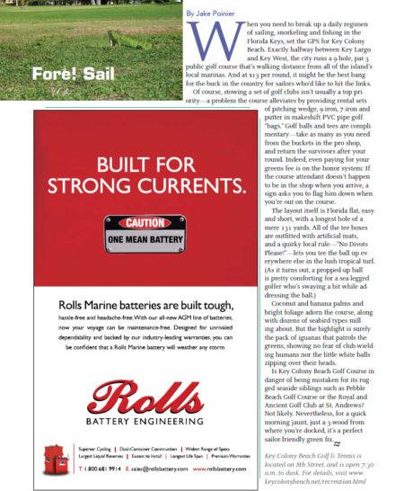 Magazine: Blue Water Sailing